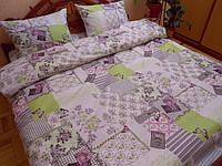 Полуторное постельное белье из бязи Комфорт Текстиль