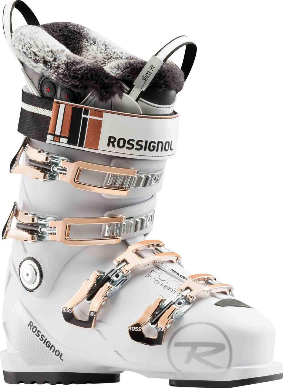 Горнолыжные ботинки женские Rossignol pure pro heat white/grey (MD)