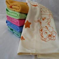 Яркое качественное банное полотенце с микрофибры для детей . Размер 140*70.
