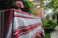 Скатерть на стол, вышитая в Украине