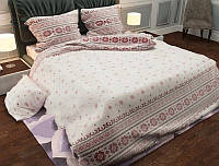 Комплект двуспального постельного белья - украинская вышиванка