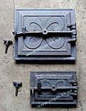 Чавунні дверцята пічні барбекю, печі, грубу (комплект №9), фото 4