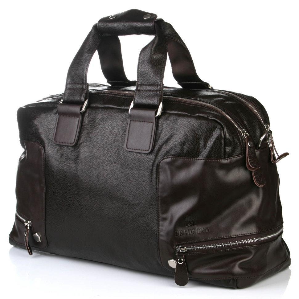 Коричневая дорожная сумка Bradford 66239