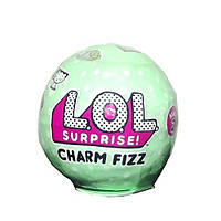 LOL Charm Fizz солевая бомбочка с игрушкой внутри. Новинка