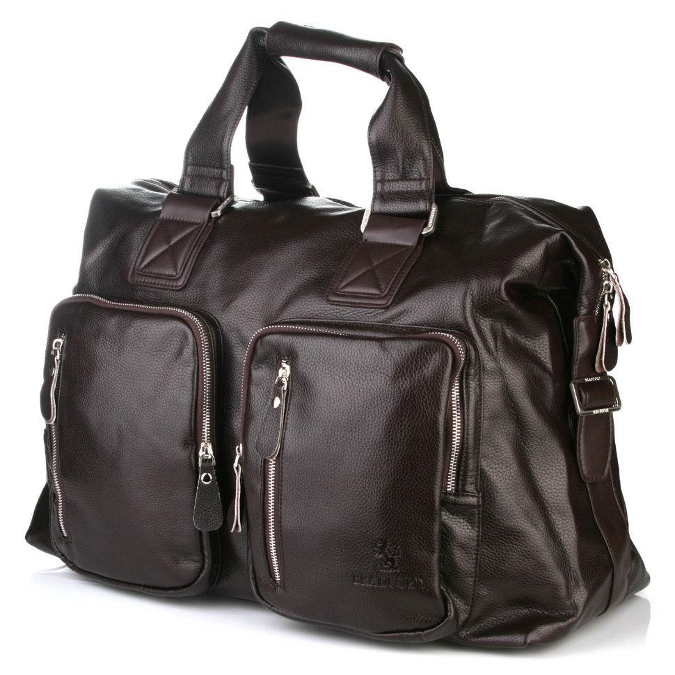 Дорожная сумка коричневого цвета Bradford 66268