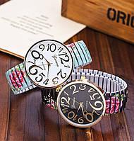 Женские часы браслет с цветами