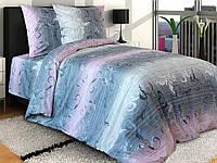 Полуторное постельное белье из бязи хлопковое Комфорт Текстиль