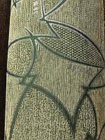 Шенилл Мозайка светло-зеленая ткань мебельная