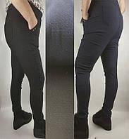 Штаны джинсовые женские на байке - зима