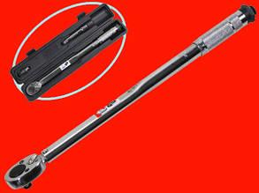 Динамометрический ключ 1/2″ Intertool XT-9007 с переходником и удлинителем