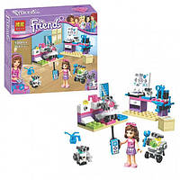 Конструктор Bela серия Friends / Подружки 10602 Творческая лаборатория Оливии (аналог Lego Friends 41307)