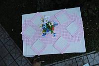 Скатерть вышитая лянная, фото 1