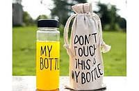 Бутылка My Bottle с чехлом черная Код:130-12311707