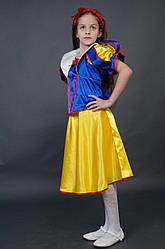 Детский карнавальный костюм на 5,6,7 лет БЕЛОСНЕЖКА новогодний костюм БЕЛОСНЕЖКИ маскарадный 327