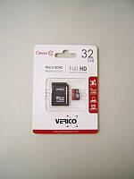КП Micro SD 32 Gb 10 class Verico