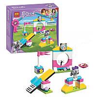 Конструктор Bela серия Friends / Подружки 10599 Игровая площадка щенка (аналог Lego Friends 41303)