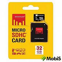 КП Micro SD 32 Gb 10 class Strontium