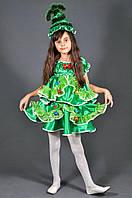 Детский карнавальный костюм ЁЛОЧКА ЁЛКА для девочек 5-11 лет