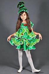 Детский карнавальный костюм ЁЛОЧКА ЁЛКА на 5,6,7,8,9,10,11 лет детский новогодний костюм ЁЛОЧКИ, ЁЛКИ 325