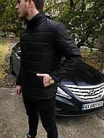 Зимняя мужская куртка, черная