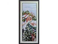 Набор для вышивки картины Время года - Зима 40х20см Код:372-37010767