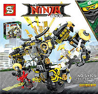 Конструктор SY Ninja Movie Робот 702 дет. (SY925), аналог LEGO NINJAGO