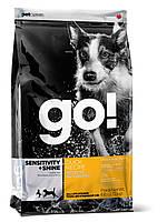 """Сухой низкозерновой корм """"GO!™ с цельной уткой и овсянкой"""" (для щенков и собак) 11,35 кг"""