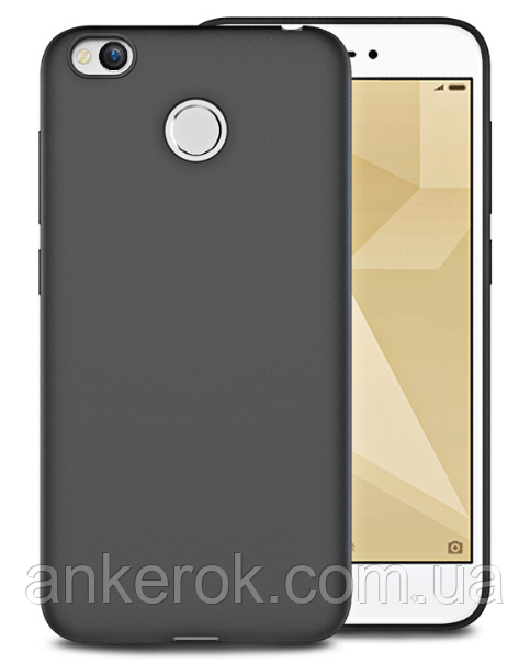 Чохол-бампер Koolife для Xiaomi Redmi 4x (Black)