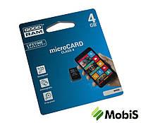 КП Micro SD 4 Gb 4 class GoodRam
