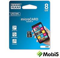 КП Micro SD 8 Gb 4 class GoodRam