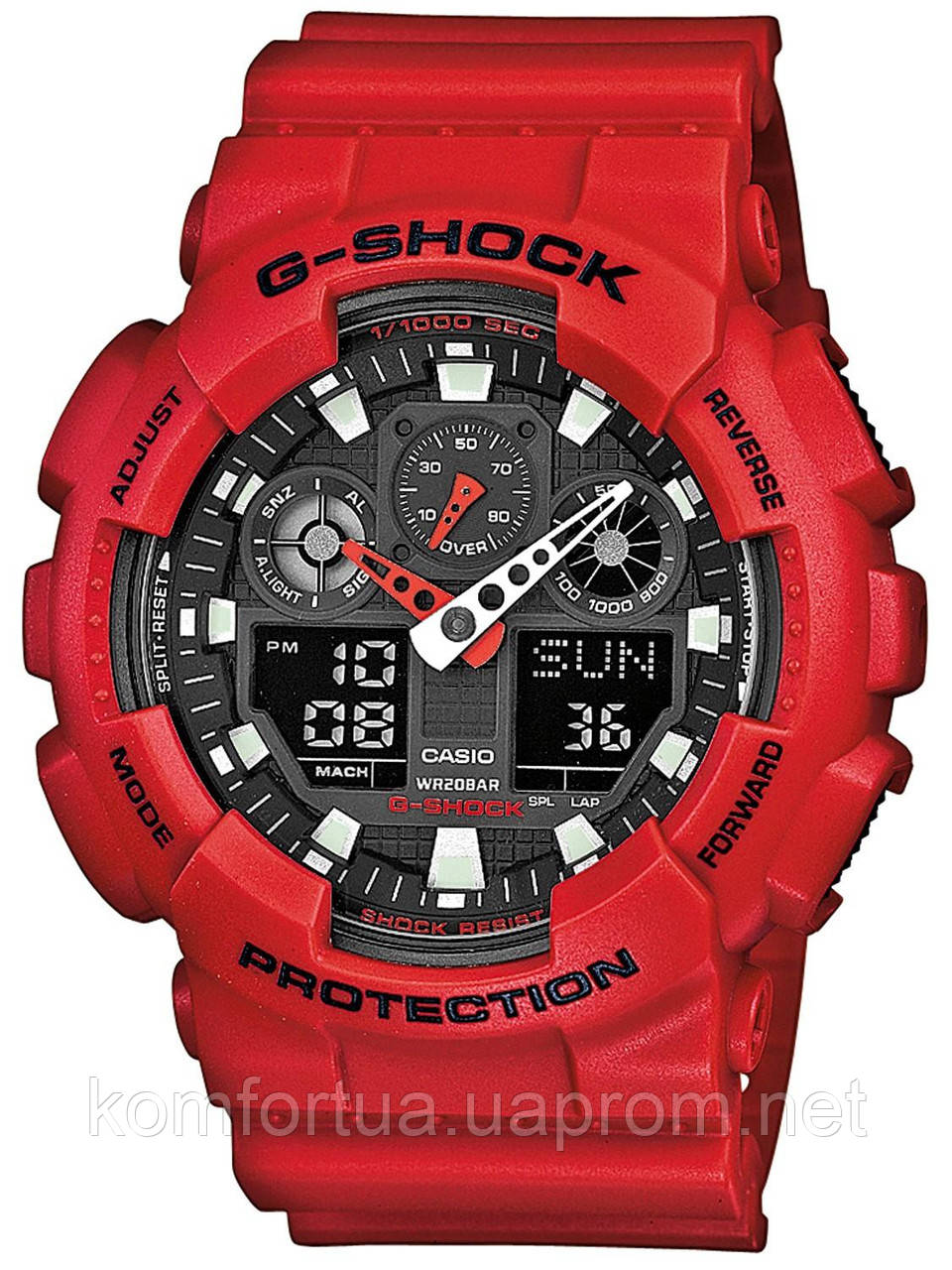 Часы CASIO G-SHOCK GA-100B-4AER