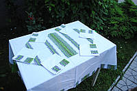 Скатерть вышитая с салфетками , фото 1