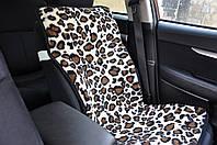Накидка на кресло автомобиля из овечьей шерсти