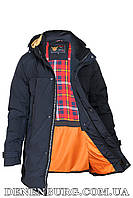 Куртка зимняя мужская ZPJV ZD-B-320 тёмно-синяя, фото 1