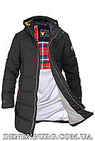 Куртка зимняя мужская ZPJV ZD-B369 чёрная, фото 1