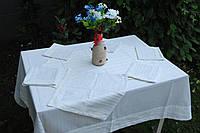 Скатертина із серветками льон, фото 1