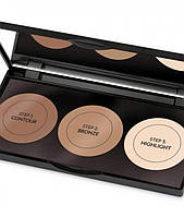 Палитра корректоров формы лица Golden Rose Contour Powder Kit