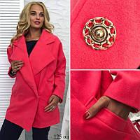 Пальто женское больших размеров 125 Ол Код:593697031