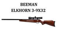 Пневматическая винтовка Beeman Elkhorn 3-9x32