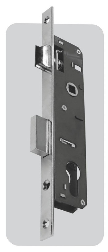 Корпус замка цилиндрового узкий LB 85-16/35-01 с защелкой