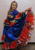 Детский карнавальный костюм ЦЫГАНКА ЦЫГАНОЧКА для девочки