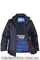 Куртка зимняя мужская CORBONA J-HG51 тёмно-синяя, фото 1