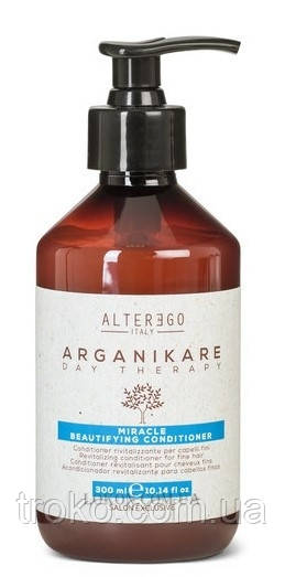 Омолаживающий кондиционер для тонких волос ALTER EGO Arganikare Miracle Beautifying Conditioner Fine 300мл