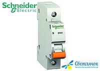 Автоматический выключатель 1р 10А 4,5кА 230/400V Тип С BA63 SCHNEIDER ELECTRIC