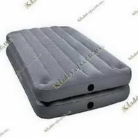 Надувная велюр-кровать Intex 67743