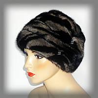 Женская меховая шапка из норки, фото 1