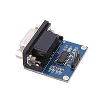 Преобразователь интерфейса RS-232 3.3-5.5 вольт на MAX3232 DB9