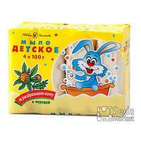 Детское мыло с экстрактом череды 4 * 100 г