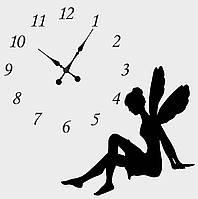 """Часы настенные """"Фея"""" в цвете"""