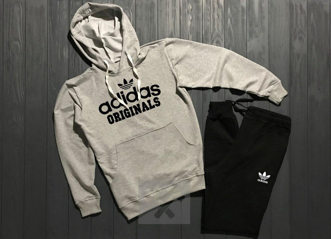 Весенний костюм спортивный Adidas Originals топ реплика